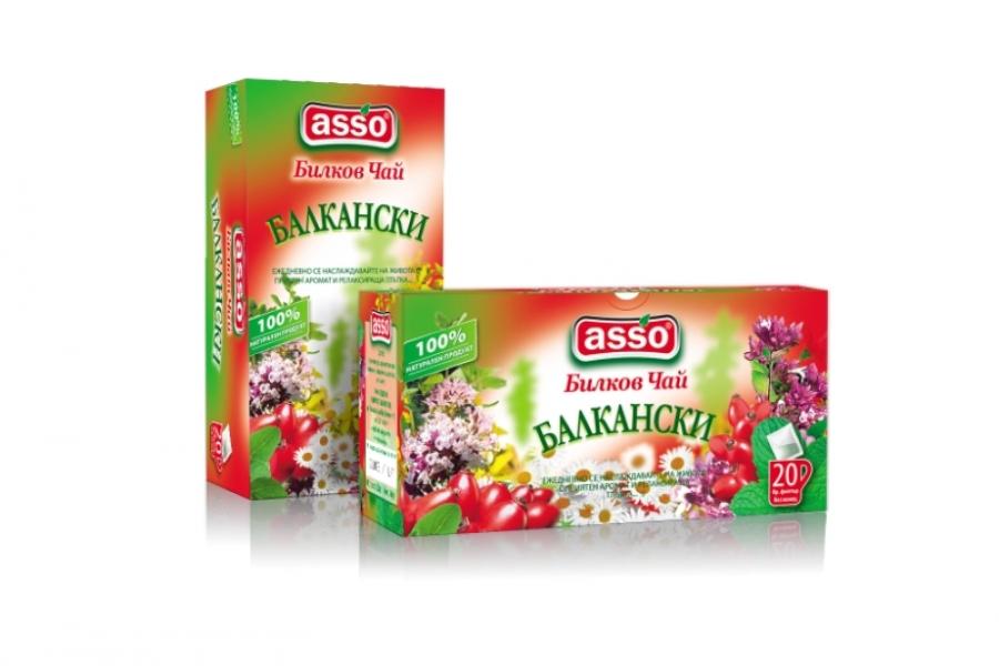 ASSO - БИЛКОВ ЧАЙ БАЛКАНСКИ